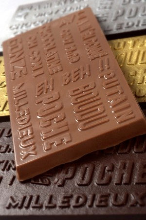 Tablettes de chocolat «expressions toulousaines»