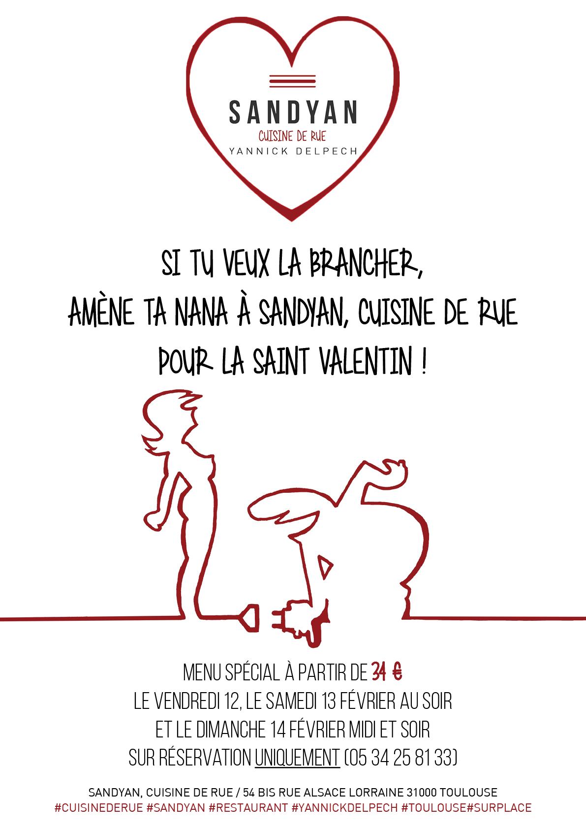 Sandyan cuisine de rue f te la st valentin sandyan - Cuisine saint valentin ...